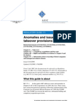 Anomalies and Issues in the Takeover Provisions-ps171