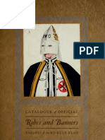 1925 Catalogue of Official Robes & Banners (Knights of the Ku Klux Klan)