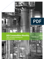 SEB's Commodities Monthly