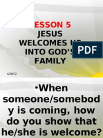 G2 LP 5 We Are Welcomed Into God's Family