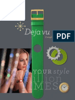 Deja vu Product Catalogue