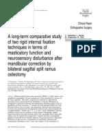 A Long-term Comparative Study