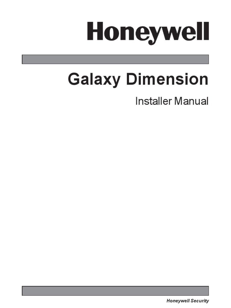 galaxy dimension installation manual 1 0 mains electricity rh scribd com Ads Security Honeywell Security Website