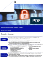Market Research Report :Security Software Market in India 2011