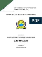 MFT I Manual