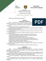 Legea Bugetului de Stat Pe Anul 2007