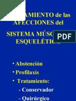 2 - tratamiento de las afecciones del sistema musculo-esquelético