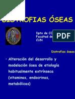 4 - distrofias óseas y osteoporosis