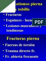 32 - Traumatismos de La Pierna y Afecciones Del Tobillo