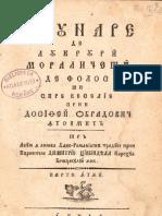Adunare de lucruri moraliceşti de folos şi spre veselie- 1808