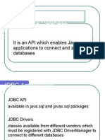 JDBC – Java Database Connectivity