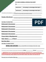 Full Wedding Planner Client Guide
