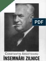 Constantin Argetoianu- Însemnări zilnice. Volumul 08. 1 ianuarie - 21 iulie ; 25 octombrie - 31 decembrie 1940