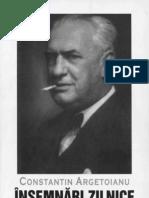 Constantin Argetoianu- Însemnări zilnice. Volumul 09. 21 aprilie - 31 decembrie 1941
