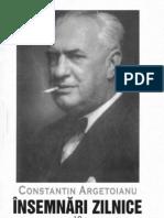 Constantin Argetoianu- Însemnări zilnice. Volumul 10 . 1 ianuarie - 20 noiembrie 1942 . 1 ianuarie - 1 februarie, 30 martie - 22 aprilie 1944