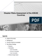 Overview of Disaster Risk Assessment Study of ASEAN (Sujit Mohanty)