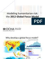Application of Risk Assessment in Disaster Response Planning (Craig Williams)