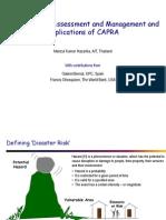 CAPRA - Probabilistic Risk Assessment Initiative (Manzul Hazarika)