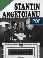 Constantin Argetoianu- Memorii pentru cei de mâine. Amintiri din vremea celor de ieri. Volumul 07, Partea a VI-a  1923-1926