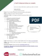 """Taller Práctico de LinkedIn """"Como crear un Perfil Profesional eficaz en LinkedIn"""" en Castellón"""
