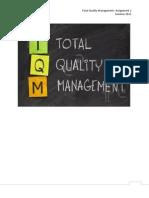 TQM Assignment 1