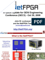 NetFPGA Status Update at GEC3