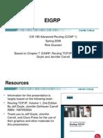 2171083 Cis185 Lecture EIGRP