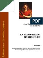 Moliere - La Jalousie de Barbouille [fr] pub[1]. 1819