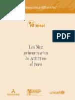 OPS Aiepi - 10 años en el Peru 1996 - 2006