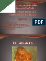 EL ABORTO. EXPOSICION