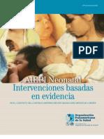 OPS Aiepi - Intervenciones Aiepi Neonatal