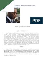 Declaration du Ministre de la défense du Gourvernement de Gbagbo
