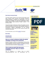 E-Include Newsletter - 17 October 2011