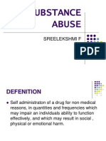 Substance Abuse Sreelekshmi