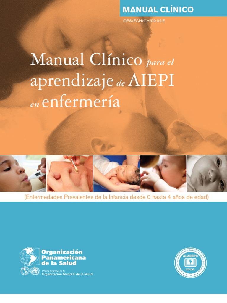 OPS Aiepi en Enfermeria - Manual Clinico