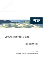 Virtual 3D Environments User Manual InWorldz & Avination - Version 2.0