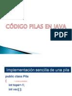 Código Pila