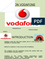 Crm on Vodafone