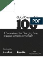 Cleantech Group 2011 Global Cleantech 100 Report