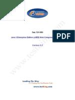 testking 310-080 sun certified developer for java j2ee (web component developer) 0 8