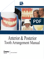 Dentsply Tooth Arrangement Manual