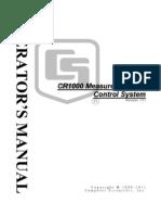 Manual Cr1000