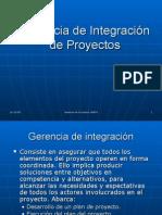 Gerencia de Integracion de Proyectos