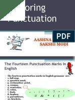 Exploring Punctuation