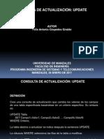CONSULTA DE ACTUALIZACIÓN UPDATE