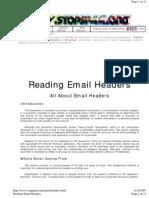 E-Mail Header - Whitepaper