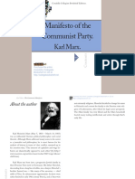 Marx The Communist Manifesto