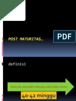Post Maturitas