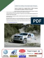 Comunicado Previo Rally TT Les Comes Team Superwagen-Promyges