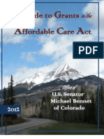 Guide to Colorado Grants, FY 2011
